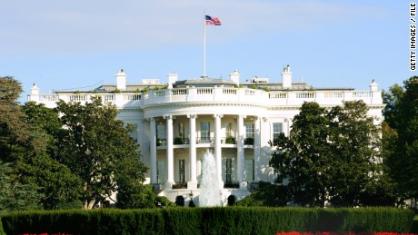 The White House is seen from the south side October 29, 2008 in Washington, DC.