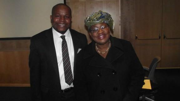 Bello pictured with Nigeria