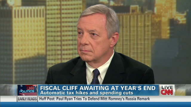 Durbin: Fiscal cliff could be 'disaster'