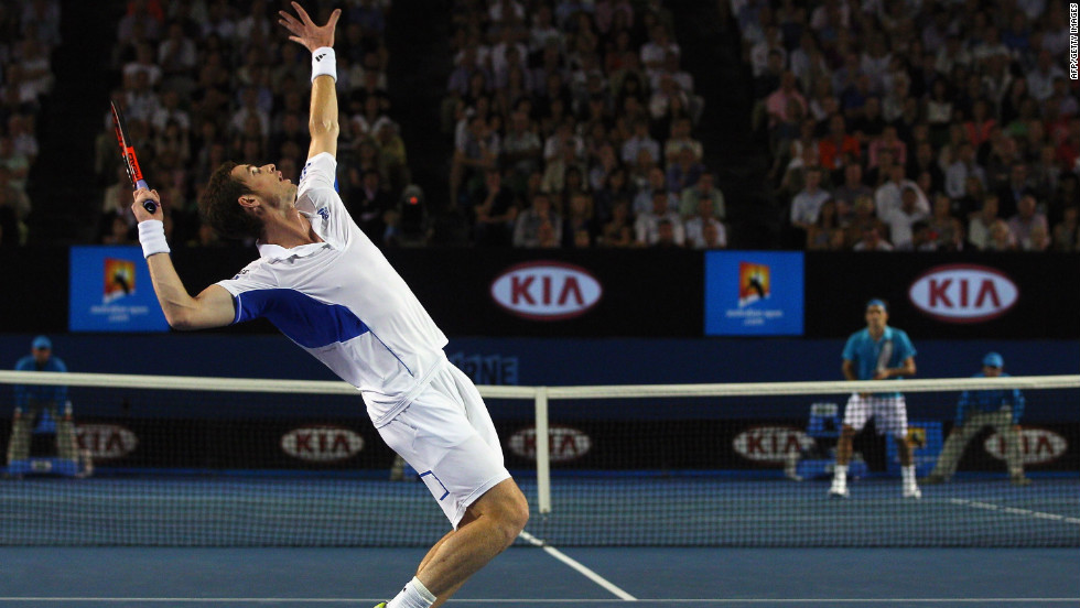 Federer once again stood in the way of Murray at the Australian Open in 2010. The match was a bit closer than the 2008 final at Flushing Meadows, but Federer still ran out a comfortable winner 6-3 6-4 7-6.