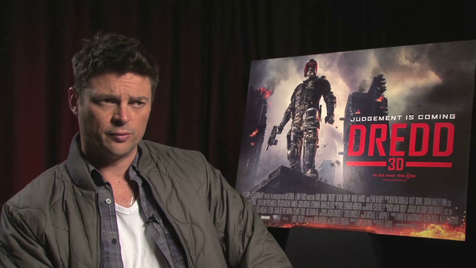 """Dredd"" is the first 3-D movie to be made at Cape Town Film Studios, says chief executive Nico Dekker."