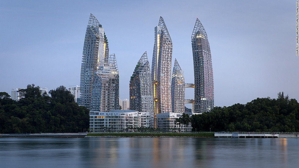"Prominently situated at the entrance to Singapore's historic Keppel Harbor, Reflections at Keppel Bay is a two-million square-foot residential development composed of six high-rise towers. Designed by <a href=""http://edition.cnn.com/2012/09/24/world/europe/great-buildings-daniel-libeskind/index.html"">Daniel Libeskind</a>, the architect behind the original master plan for the World Trade Center redevelopment, it is set for completion in 2013. <br /><em>Designed by: Studio Daniel Libeskind, U.S.</em>"
