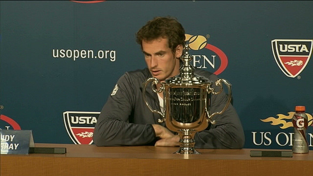 Britain's Andy Murray wins U.S. Open