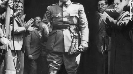 General Francisco Franco, named generalissimo or supreme commander a little more than a week earlier, is made leader of Spain's new  regime on October 1, 1936.