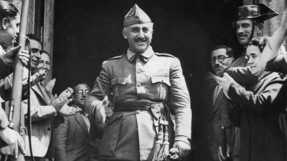 General Francisco Franco, named generalissimo or supreme commander a little more than a week earlier, is made leader of Spain