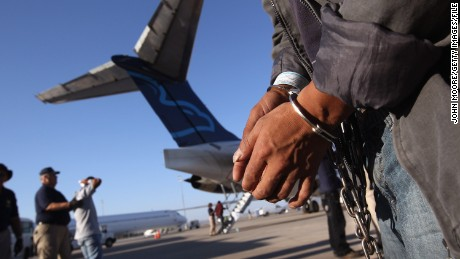 ICE Air: the operation of American deportation flights