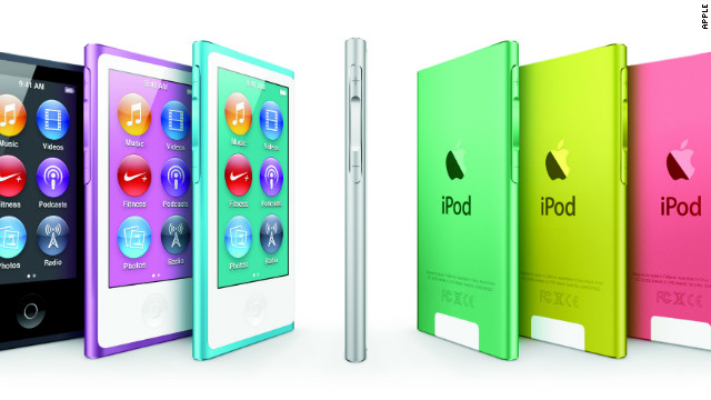 Apple revamped its line of iPod nanos Wednesday, adding a 2.5-inch multi-touch screen.