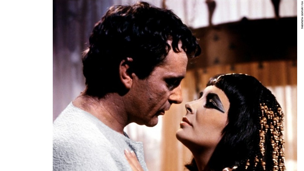 "Elizabeth Taylor and Richard Burton's chemistry was so intense that they married and divorced twice. Taylor and Burton appeared in 11 films together between the '60s and '70s, including ""Cleopatra"" and ""Who's Afraid of Virginia Woolf?"""