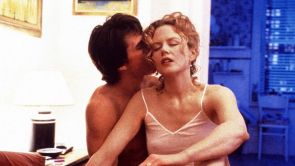 """Tom Cruise didn't jump on Oprah's couch during his courtship with second wife Nicole Kidman, but he did appear alongside the actress onscreen. They met on the set of 1990's """"Days of Thunder,"""" and starred together in 1999's """"Eyes Wide Shut."""" The couple ended their 11 year marriage in 2001 and Cruise later began dating Penélope Cruz, his co-star in """"Vanilla Sky."""""""