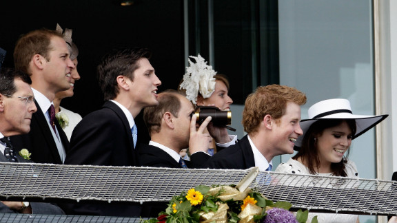 The British Royal Family watch Camelot storm to victory at the Epsom Derby. The Queen