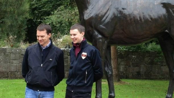 """Father Aiden says the tactics of the race will be left to jockey son Joseph, adding: """"I presume he"""