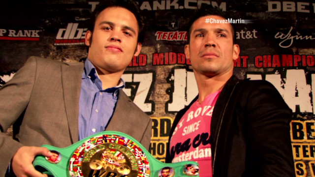 Martinez goes after Chavez Jr.'s belt