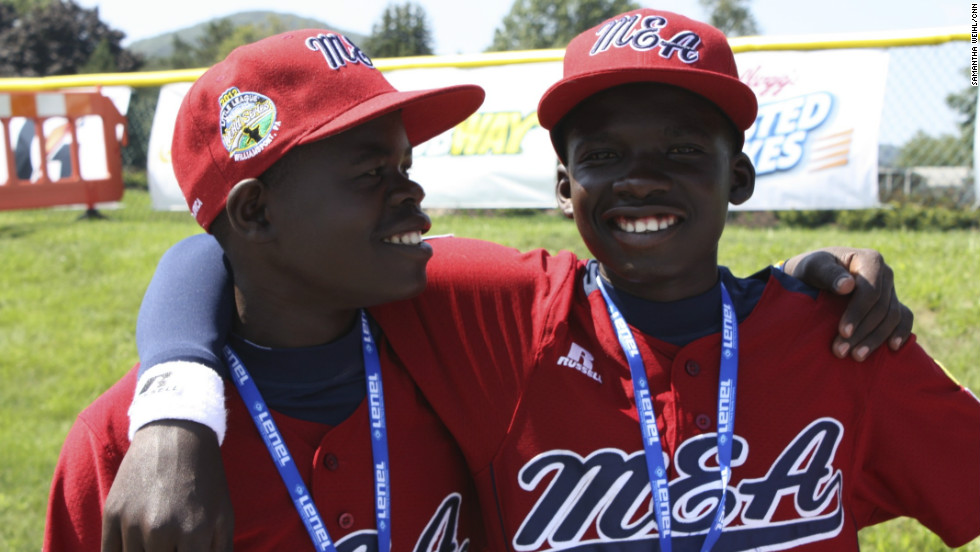 The Lugazi baseball team from Uganda are the first team to represent Africa in the 66-year history of the Little League World Series.