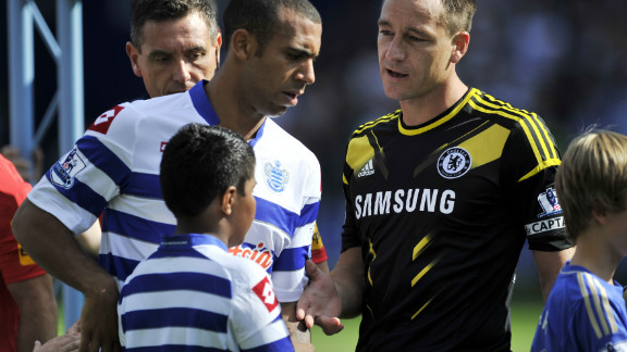 Back in September, Ferdinand had declined Terry