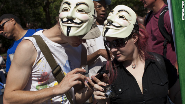 Occupy seeks foothold on anniversary