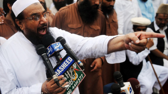 Hafiz Mohammad Saeed, head of Pakistan