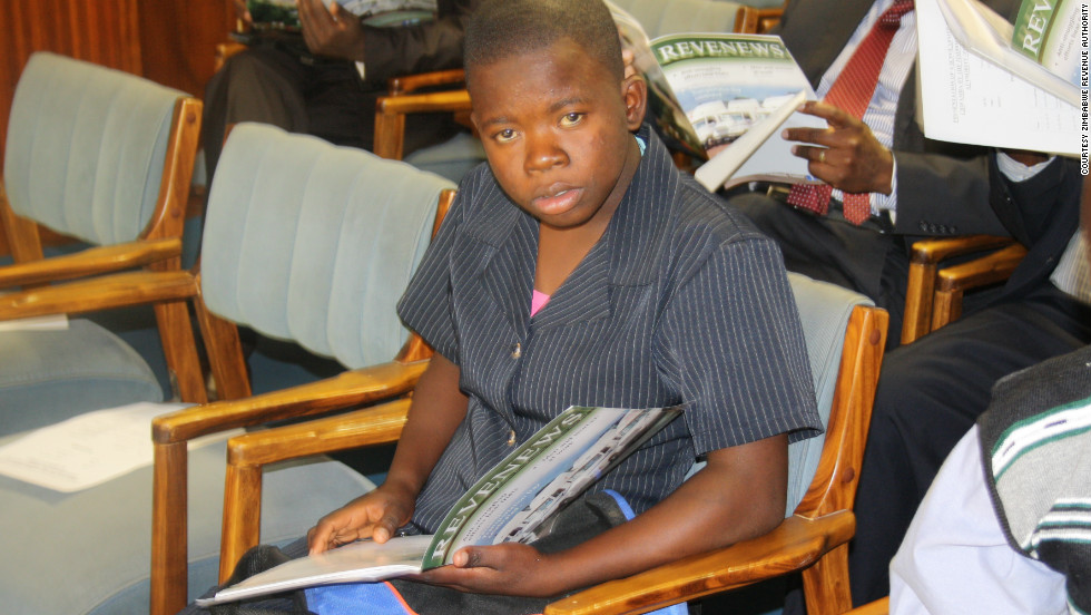 The bright teenager had to study alone at home as her family couldn't afford to pay the fees required to attend formal school.  She is now on her way to be Zimbabwe's youngest university graduate.