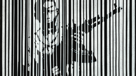 """In """"Barcode 1,"""" said Diab, the child behind the barcode is the victim of people who are dealing in weapons and driving children to take up arms for their own interests."""