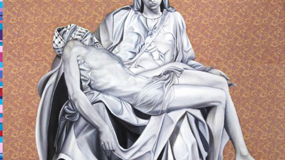 """""""New Pieta"""" reconfigures Michaelangelo"""