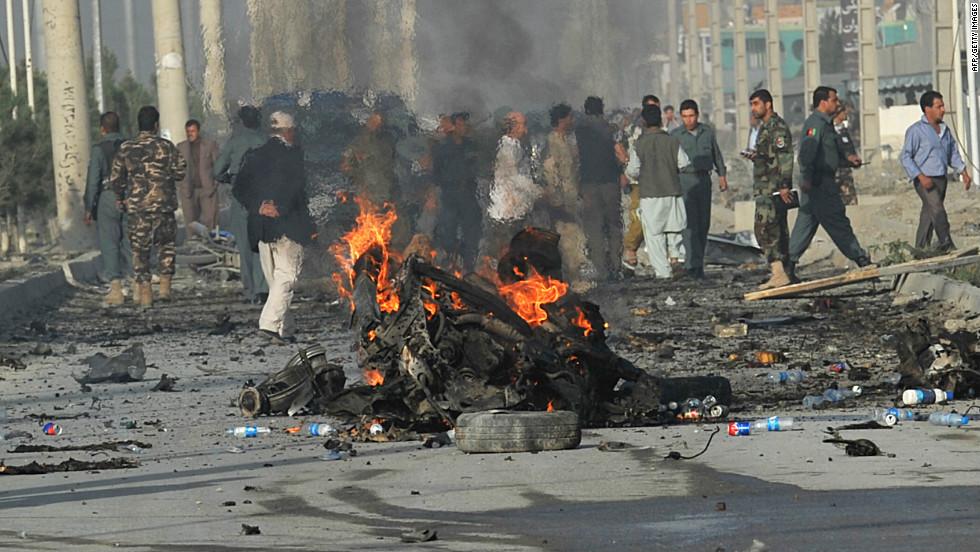 סעריע אטאקעס אין אפגאניסטאן