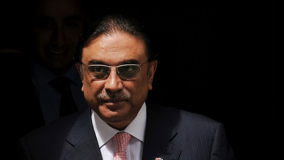 Agreement on the letter brings a long-running dispute near to an end. Pictured is President Asif Ali Zardari.