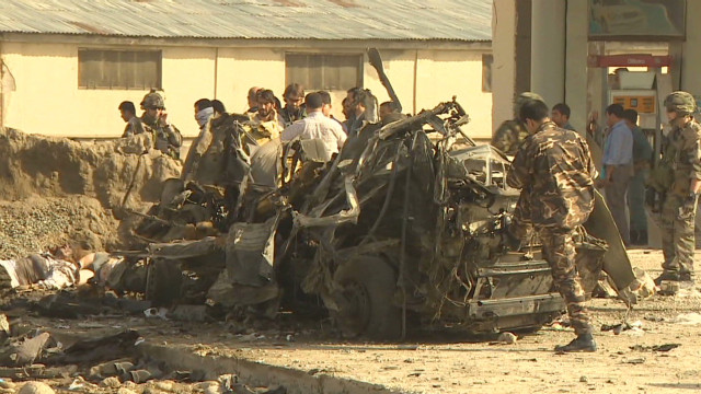 Kabul's first female suicide bomb attack