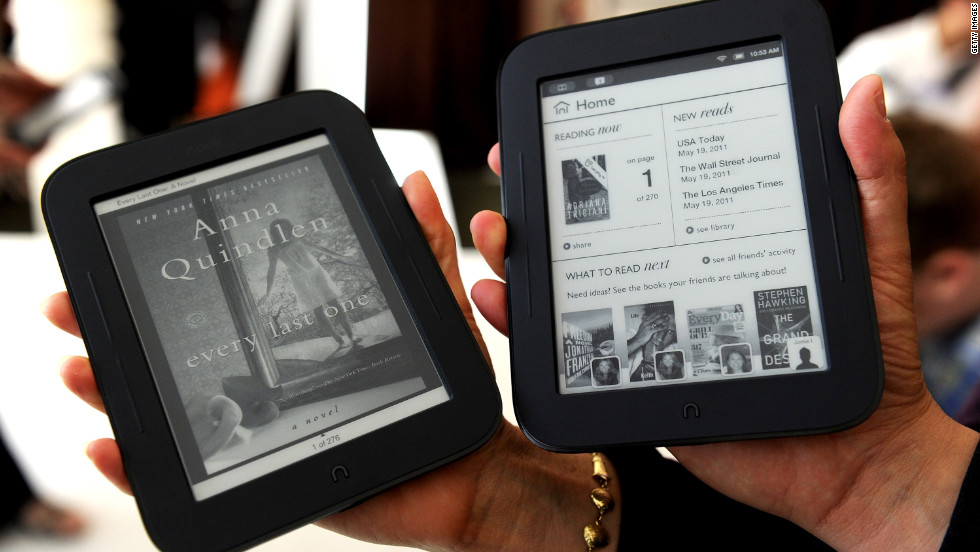 In April, Microsoft sank $300 million into a partnership with Barnes & Noble on the Nook line of e-readers and tablets. The line has a smaller market share than Amazon, but readers like the Nook Simple Touch with GlowLight (the first straight reader to solve the read-in-the-dark problem), which has been reviewed highly.