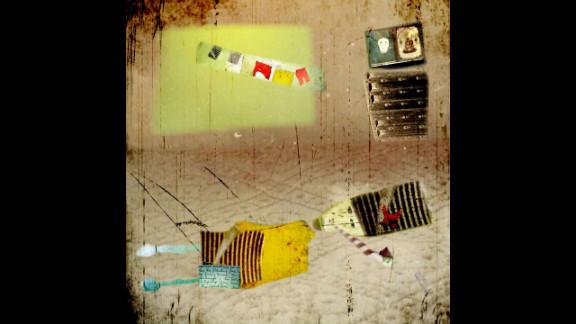 """""""Smoking in Bed,"""" Strange Things series, Karen Divine"""