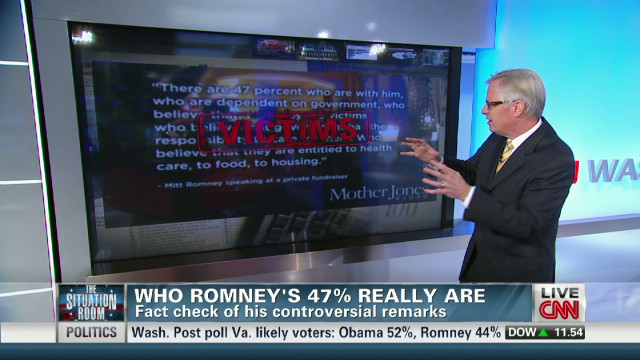 Who Romney's 47% really are