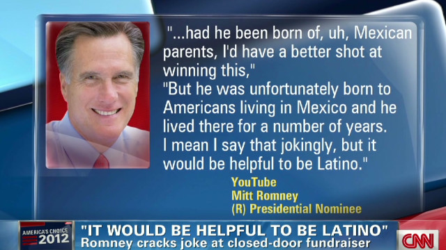 Romney camp. defends Latino comment