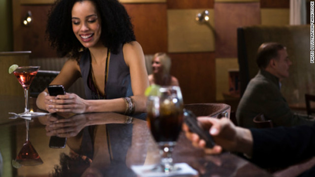 Smartphones and location-based social apps are changing how people date in 2012.
