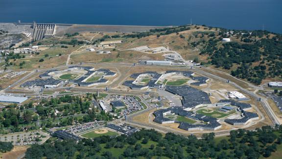 An aerial view of California State Prison (CSP), Sacramento.
