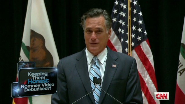 Romney campaign's spin on leaked tape