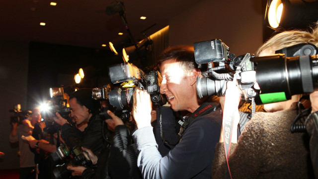 The paparazzi camp out at venues around Los Angeles hoping to catch celebrities out on the town.