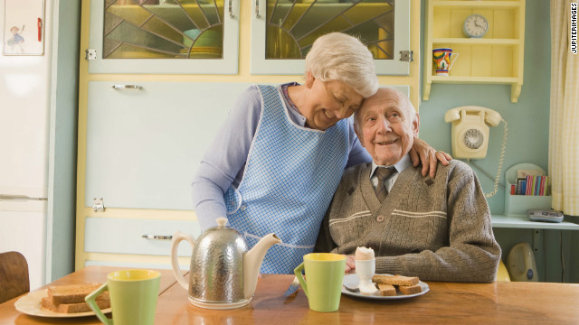 How a marriage could be associated with a lower risk of dementia