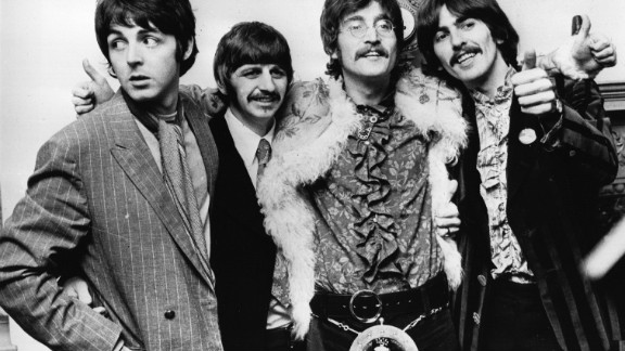 """To this day, the music of the Beatles helps to put the city of Livepool on the map. """"The Fab Four"""" of John Lennon, Paul McCartney, Ringo Starr and George Harrison were global megastars between 1960 and 1970."""