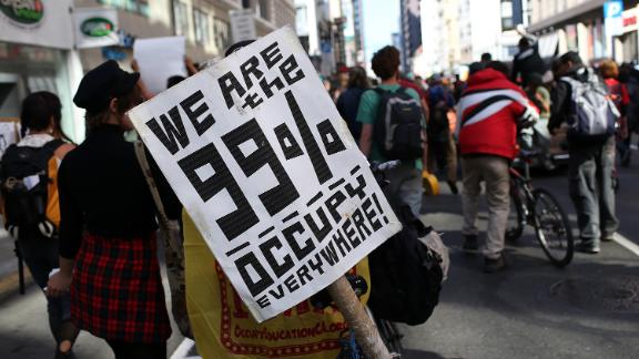 The 99% of Westeros could identify with the anger of Occupy Wall Street, fans of the show say.