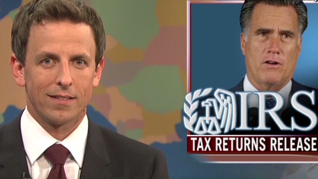 'SNL': Romney pays less than you tip