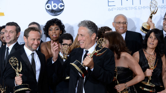 """""""The Daily Show With Jon Stewart"""" wins the best variety series for a 12th consecutive year."""