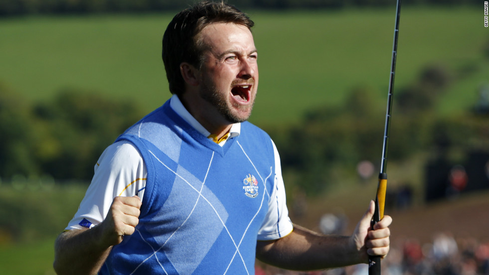 Graeme McDowell was the last-day hero of Europe's narrow victory at Celtic Manor two years ago and he will take his place at Medinah looking for a repeat.