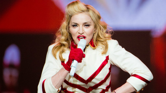 There's a good chance Madonna misplaced her watch during her MDNA tour in 2012. She took the stage late in Miami, Philadelphia and Tel Aviv.