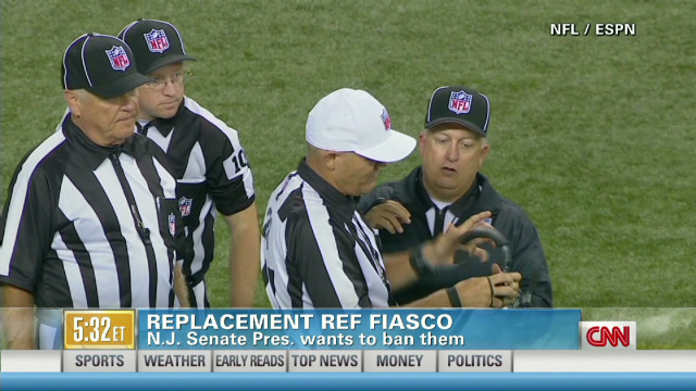NFL replacement ref fiasco