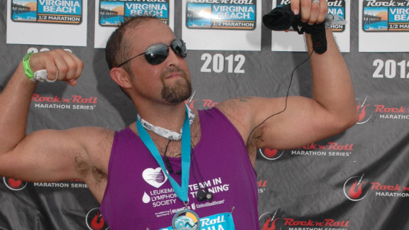 In September 2012, Legg participated in the Rock N' Roll half marathon in Virginia Beach.
