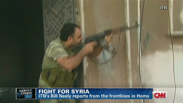Civil war 'intense as ever' in Homs