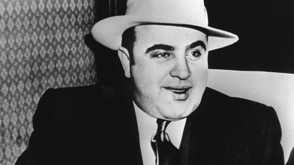 Al Capone, the Chicago bootlegger and gangster, was originally buried at the city's Mount Olivet Cemetery after his 1947 death. He shared a tombstone there with his brother and father. When his mother died in 1952, his body was moved to a plot alongside hers at Mount Carmel Cemetery in Hillside, Illinois, because the former plot had become too much of a tourist attraction.