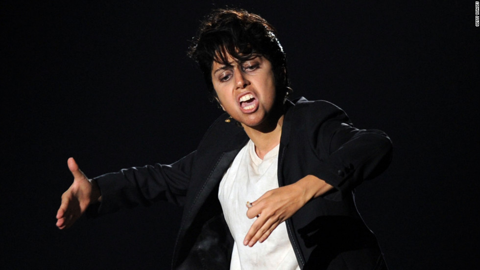 Lady Gaga surprised many at the 2011 MTV Video Music Awards as she channeled her foul-mouthed, whisky-drinking, chain-smoking male alter-ago, Jo Calderone.
