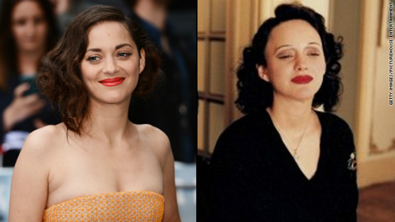 "Critics heaped praise on Marion Cotillard's award-winning portrayal of French chanteuse Edith Piaf in 2007's ""La Vie en Rose."" The physical part of her transformation took patience, with Cotillard's role demanding five hours in a makeup chair."