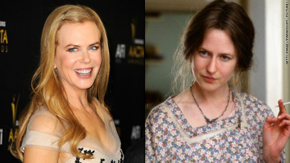 "Nicole Kidman nabbed a best actress Oscar for her portrayal of Virginia Woolf in 2002's ""The Hours."" But the makeup job that changed her appearance -- aided greatly by a prosthetic nose that stirred debate -- didn't receive a nod."