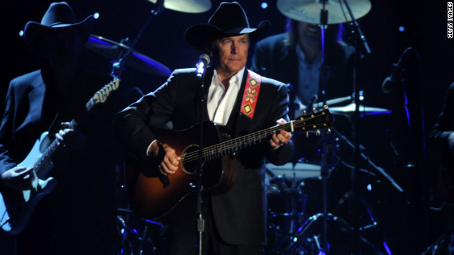 George Strait performs at the 44th Annual CMA Awards at the Bridgestone Arena on November 10, 2010 in Nashville, Tennessee.