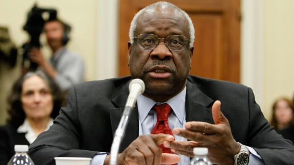 Clarence Thomas is the second African-American to serve on the court, succeeding Thurgood Marshall when he was appointed by President George H. W. Bush in 1991. Thomas is a conservative and a strict constructionist who supports states' rights.